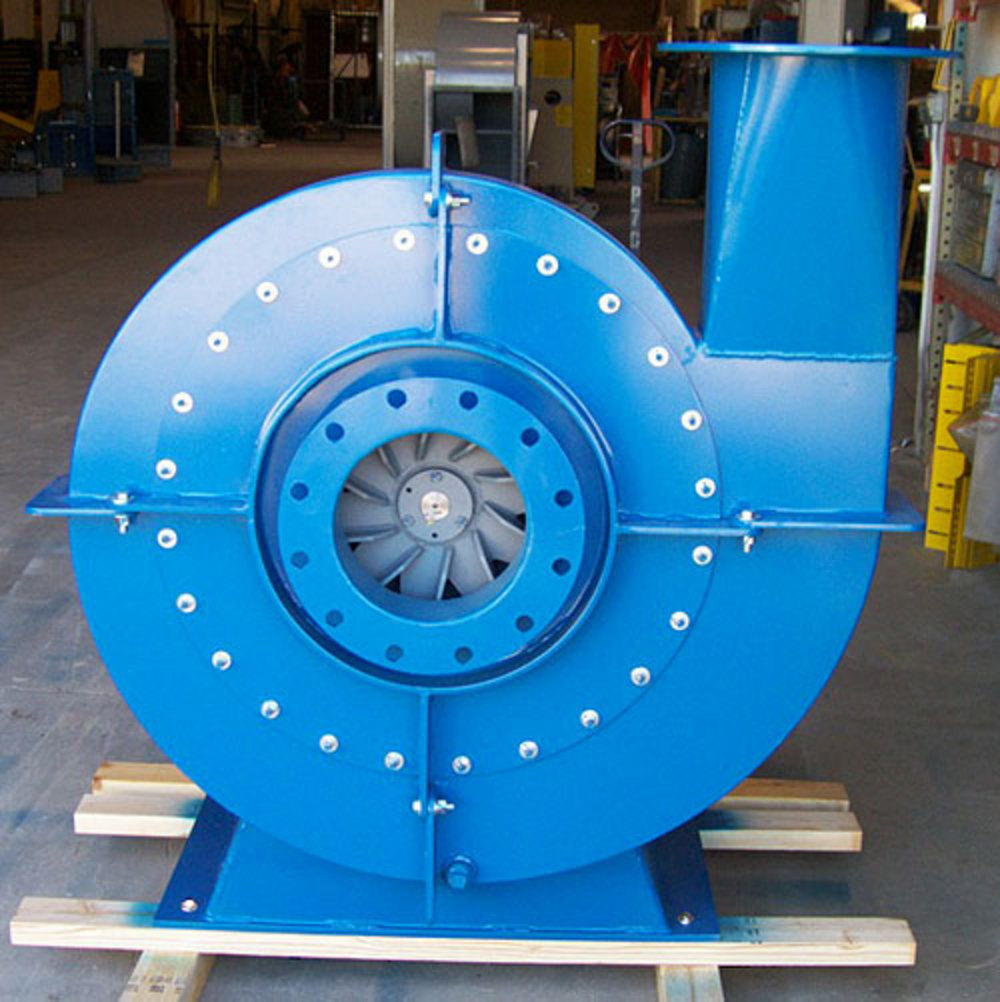 Radial Vs Axial Fan : Process environments air filtration systems for industry